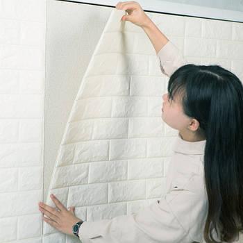 Самоклеющиеся 3D панели для стен