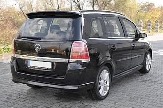 Спойлер Opel Zafira B тюнинг козырек заднего стекла