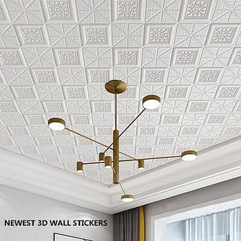 Самоклеющиеся 3D панели для потолка и стен