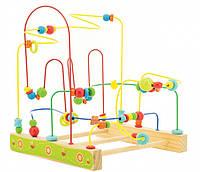 Игрушка из дерева Мир деревянных игрушек Деревянный лабиринт Пчелки (Д380)
