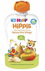 Пюре фруктовое органик Банан-груша-манго HiPP (Хипп) 100 гр с 4 месяцев
