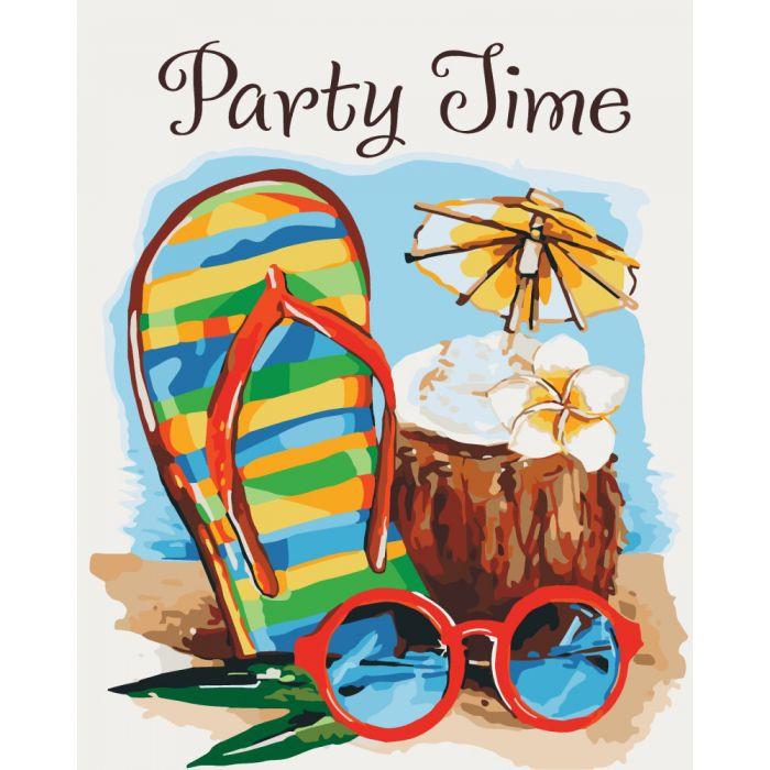 "Картина по номерам. Пейзаж ""Party time "" KHO2821, 40х50 см"