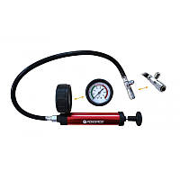 Насос ручной с манометром для тестирования герметичности систем охлаждения (0-2,5 bar) Forsage F-922G1-P
