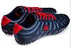 Сороконожки подростковие Restime р.40 т.синий-красный, фото 7