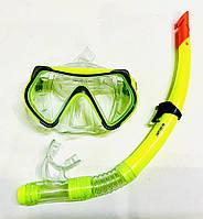 Набор для плавания маска + трубка, фото 1