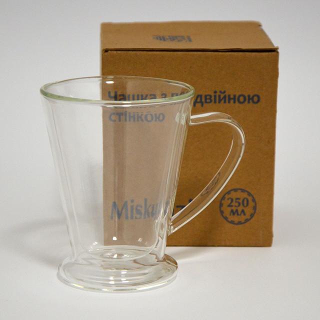 """Чашка с двойной стеклянной стенкой """"Miskuzi"""" (фото)"""