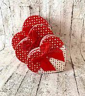 Набор подарочных коробок в форме сердца