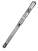 Термометр ТЛ- 1 (0+5/0,01) Hg