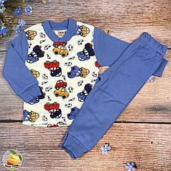 Дитяча піжама для хлопчика Розміри: 86,92,98,104 см (01344)