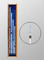 Термометр ТМ- 5-1-4 (-10+50/0,5)Hg, коленчатый Савинова (комплект из 4-х шт,)