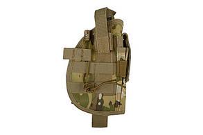 Кобура универсальная с подсумком для магазина - multicam [GFC Tactical] (для страйкбола)