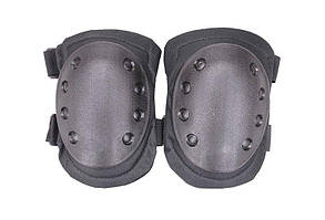 Zestaw ochraniaczy na kolana - czarne [GFC Tactical] (для страйкбола)