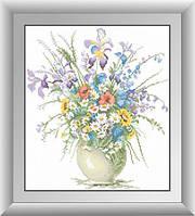 Алмазная мозаика Полевые цветы Dream Art 30403 38x43см 26 цветов, квадр.стразы, полная зашивка. Набор алмазной