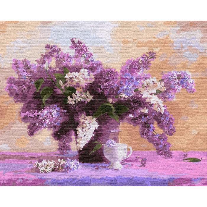 Картина рисование по номерам Идейка Сюрприз для любимой 40х50см КНО3070 набор для росписи, краски, кисти,