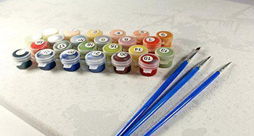 Картина рисование по номерам Идейка Цветочная поэзия 40х50см КНО2049 набор для росписи, краски, кисти, холст