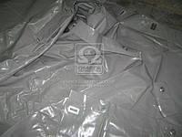 Тент ГАЗ 3302 (старого образца под веревку) (двухслойная ткань,цвет серый) 3302-6002020