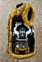 Безрукавка на меху с опушкой 44, фото 2