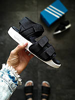 Мужские босоножки  Adidas ADILETTE черные, фото 1