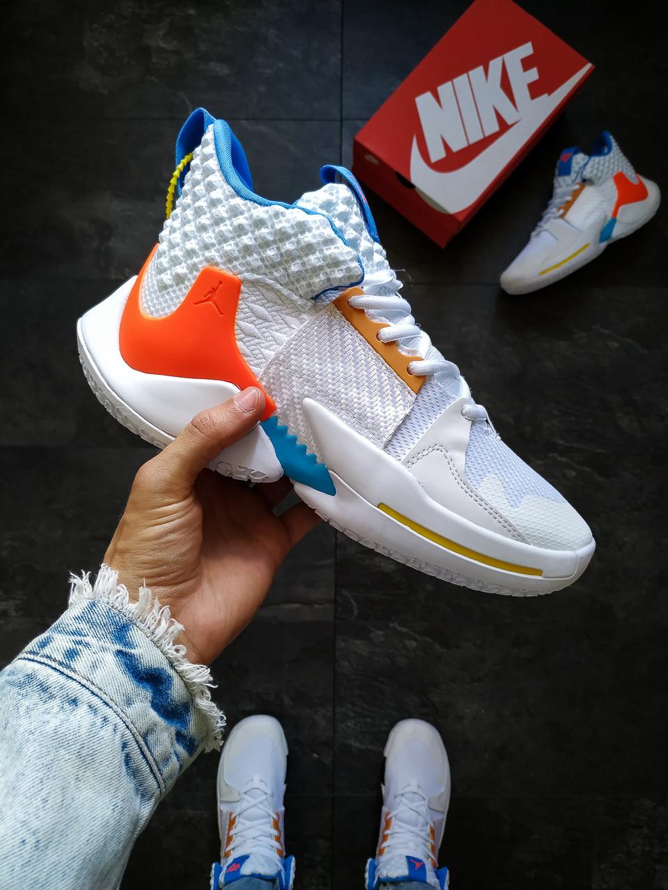 Баскетбольные кроссовки Nike AIR JORDAN Белые