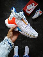 Баскетбольные кроссовки Nike AIR JORDAN Белые, фото 1