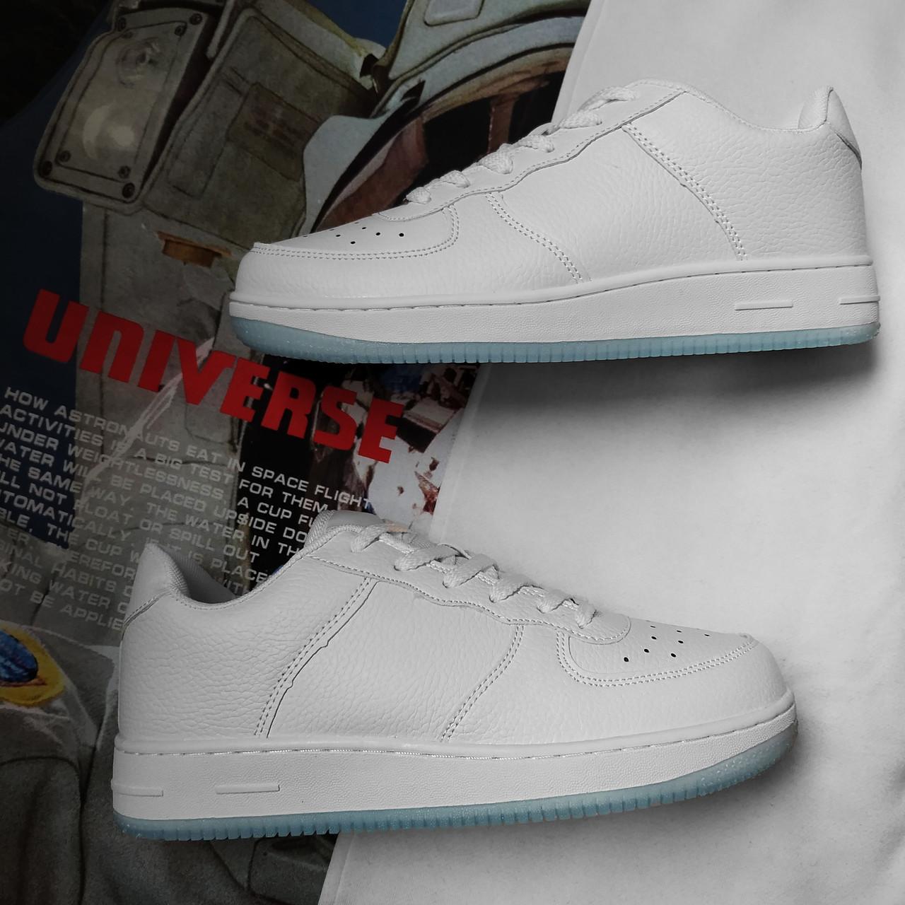 Мужские кроссовки в стиле Nike Air Force 1 Low White