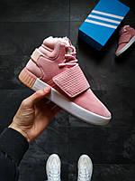 Женские зимние кроссовки  Adidas Tubular Inv Розовые 36, 38 размер, фото 1