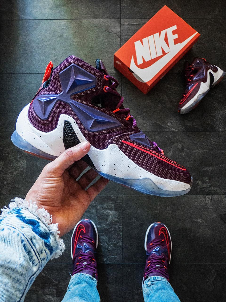 Баскетбольные кроссовки NIKE LEBRON 13 Perfomance 44 размер