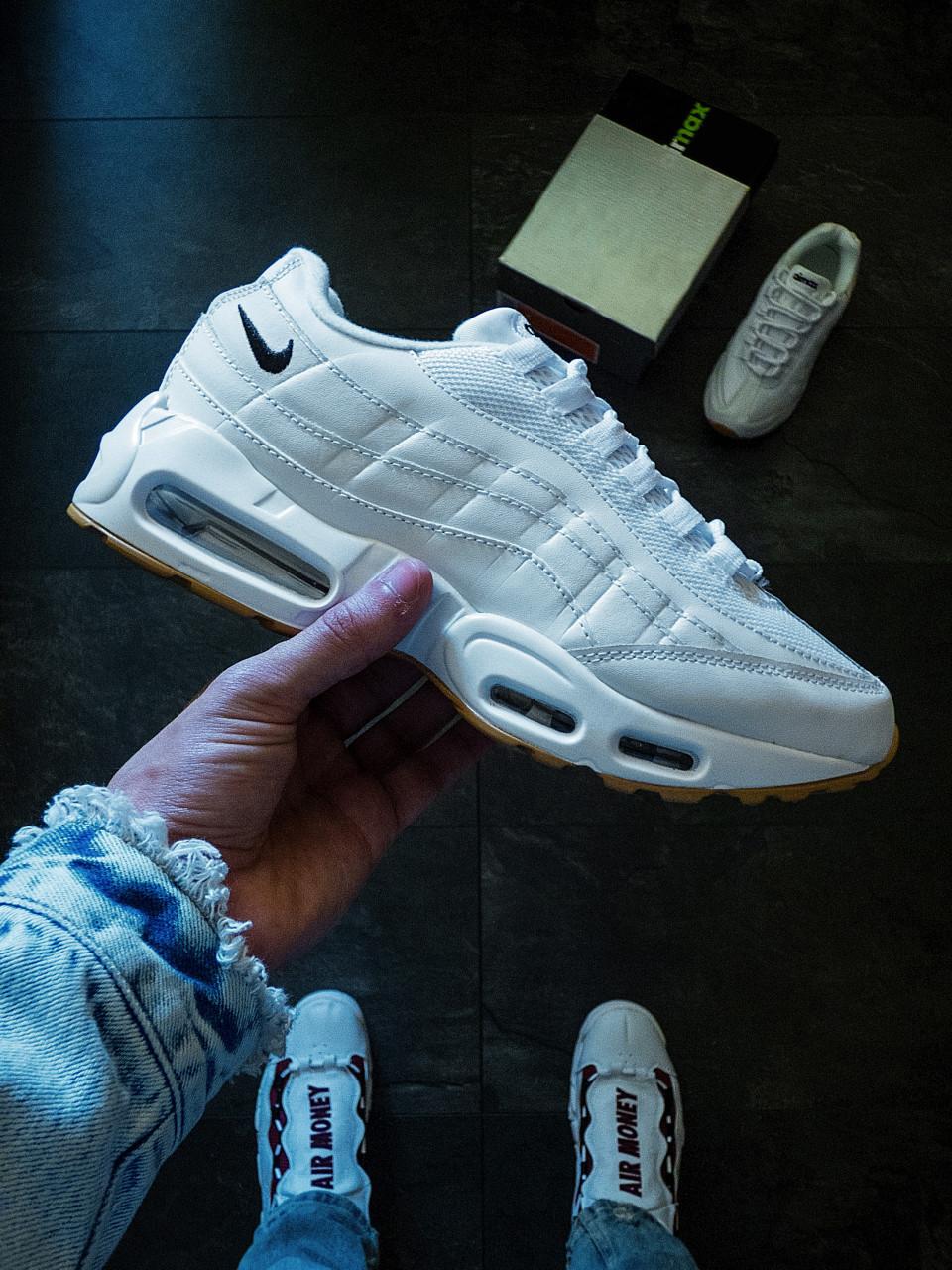 Женские кроссовки Nike Air Max 95 Белые 37 размер