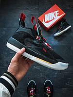 Мужские кроссовки Nike Air Jordan XXXIII Черные, фото 1
