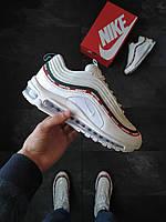 Мужские кроссовки Nike Air Max 97 undefeated Белые, фото 1