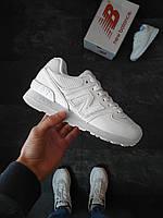 Женские кроссовки New Balance 574  белые, фото 1