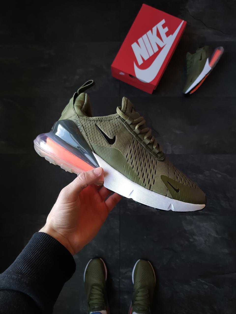 Nike Air 270 мужские Хаки / Оливковый