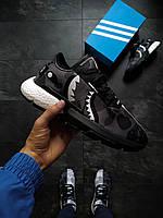 Мужские кроссовки  Adidas POD S3.1 Bape x Neighborhood серые, фото 1