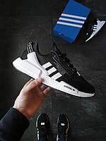 Мужские кроссовки  Adidas NMD R1 V2 Core Black Черные, фото 1