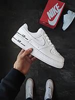 Мужские кроссовки Nike Air Force 1 Added Air белые, фото 1