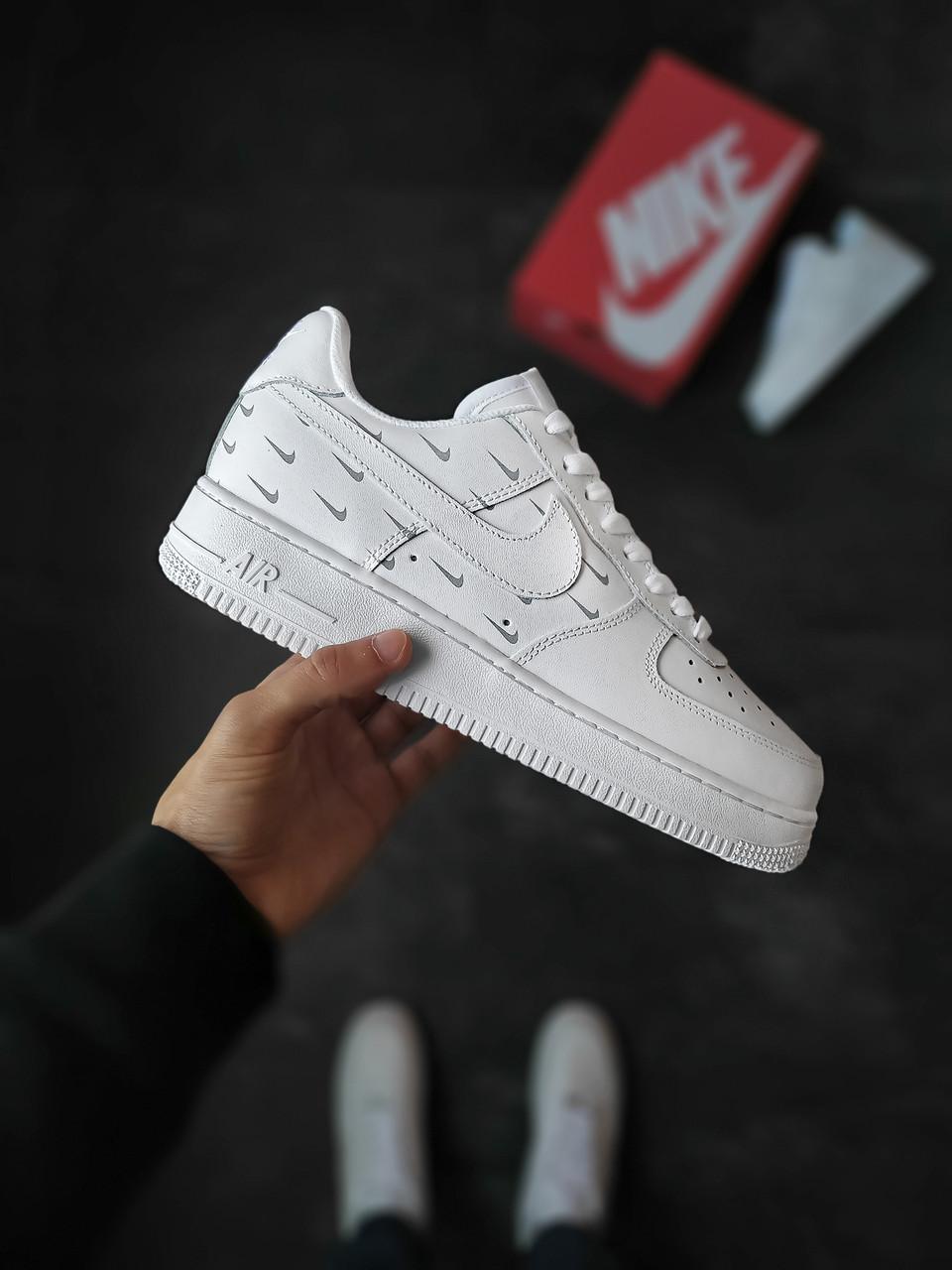 Мужские кроссовки Nike Air Force 1 Safe белые