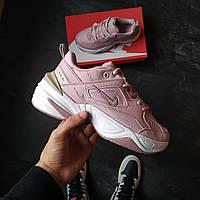 Женские кроссовки Nike M2K Tekno Розовые, фото 1