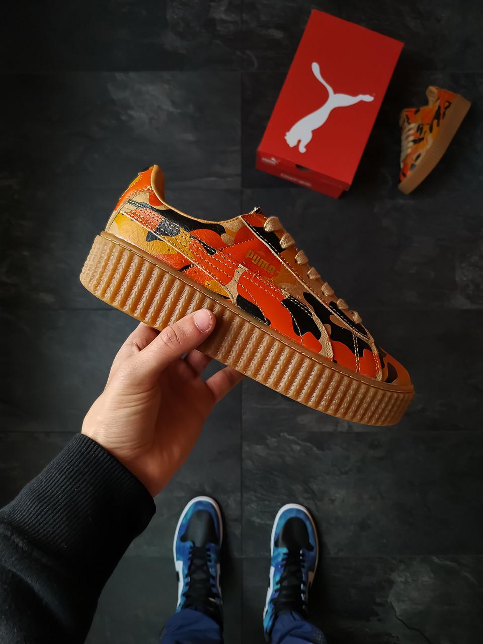 Женские  кроссовки Puma Creepers Camo Rihanna