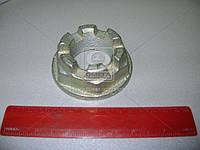 Гайка М42х2 фланца заднего среднего моста (производство БААЗ) 374964