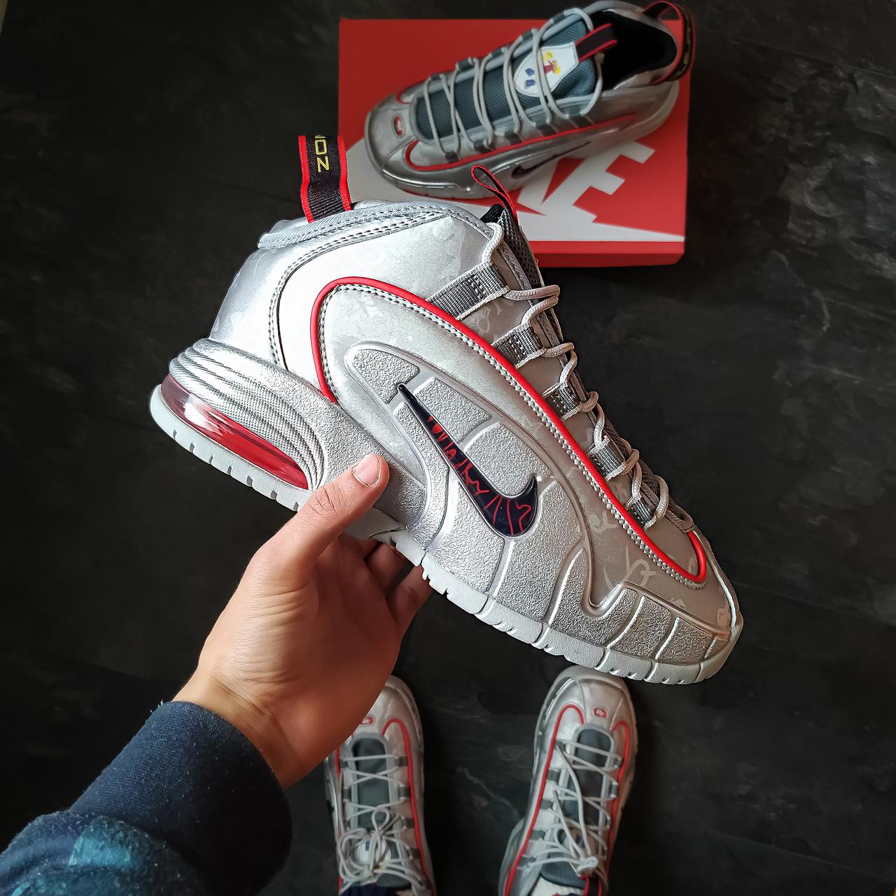 Мужские кросовки Nike Penni 1 Серые