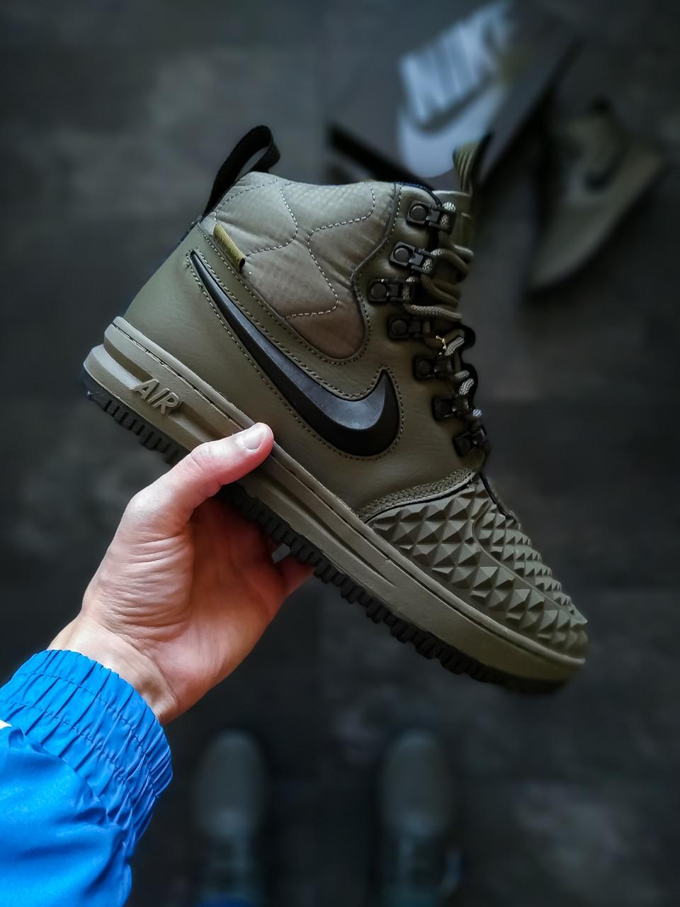 Зимние мужские кроссовки Nike LF 1 Duckboot (на меху)