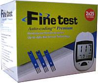 Тест-полоски Fine test Auto-coding Premium, 50шт. в уп.