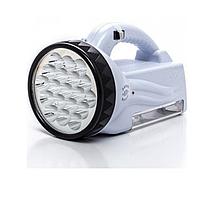 Ліхтарик №OJ222 акумуляторний з ручкою ЛЕД (12*14*24 см.)