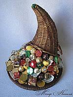 Рог изобилия из конфет