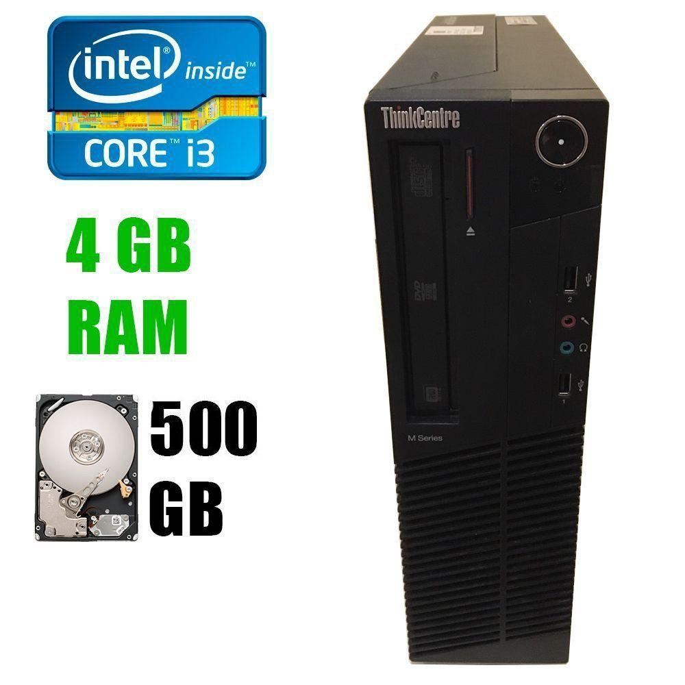 Lenovo M82 Desktop / Intel® Core™ i3-3220 (2(4)ядра по 3.30 GHz) / 4GB DDR3 / 500GB HDD