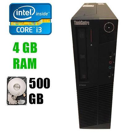 Lenovo M82 Desktop / Intel® Core™ i3-3220 (2(4)ядра по 3.30 GHz) / 4GB DDR3 / 500GB HDD, фото 2