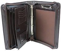 Папка портфель для документов из эко кожи JPB коричневая