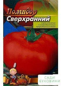 Томат 'Сверхранний' (Большой пакет) ТМ 'Весна' 1г