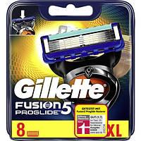 Сменные кассеты Gillette Fusion Proglide, на 5 лезвий (8шт.)