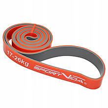 Эспандер SportVida Power Band 28 мм 17-26 кг